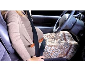 Guía de conducción segura para embarazadas